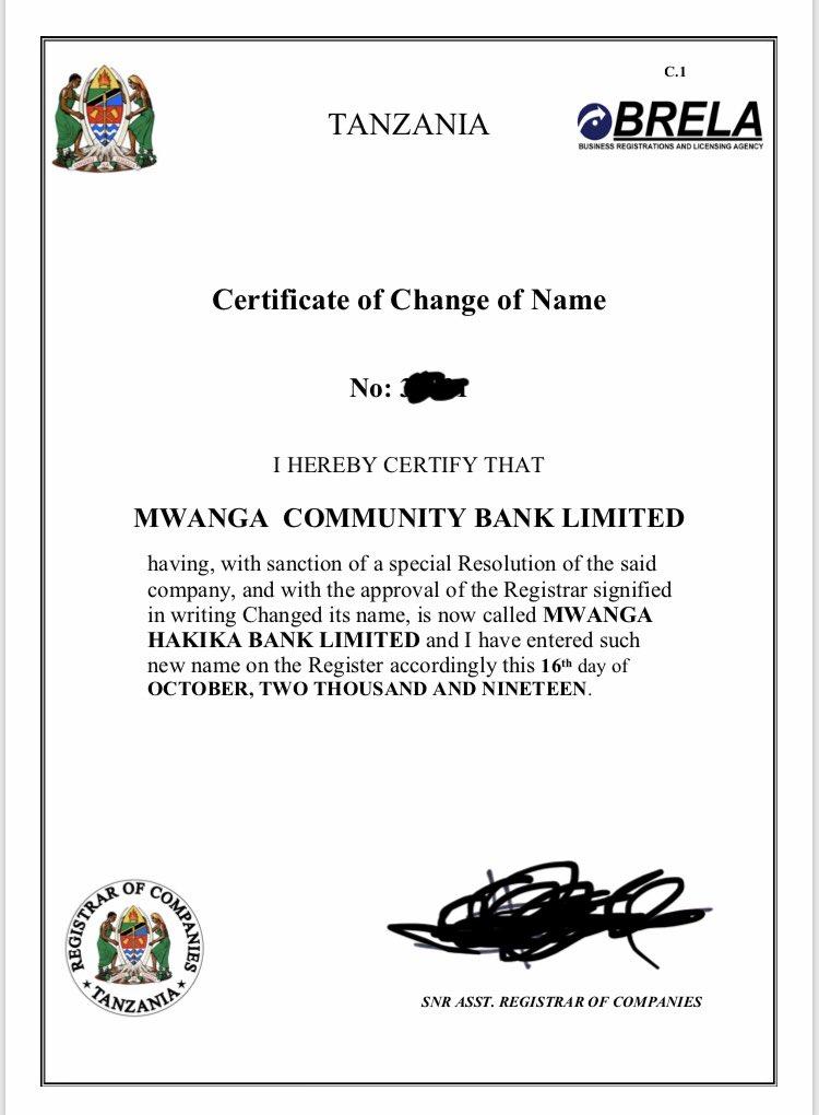 Mwanga Hakika Bank