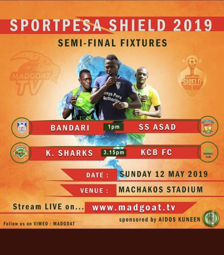 Sport Pesa Shield 2019