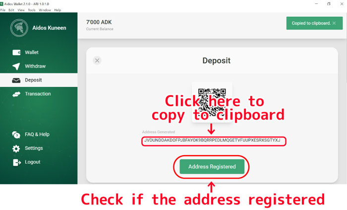 Check-if-the-address-registered