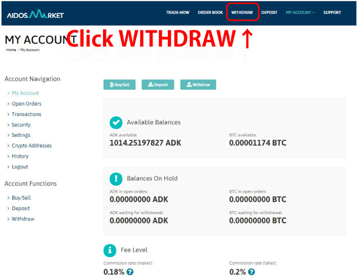 Click-WITHDRAW