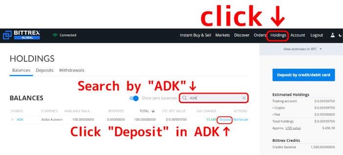 Deposit-ADK