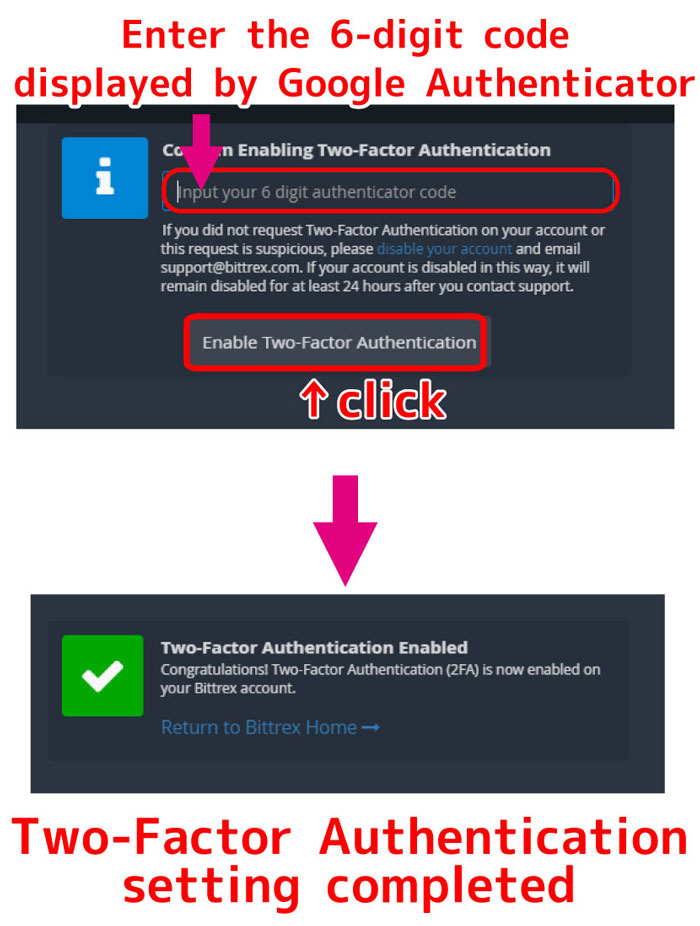 Two-Factor-Authentication-setting-completed